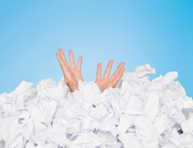 Drowning in paper?