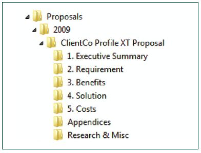 Proposal Outline - File Structure