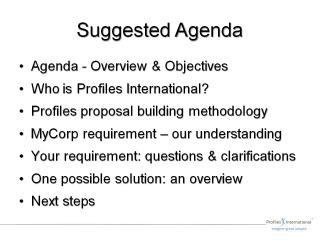 Pre Proposal Review-Agenda