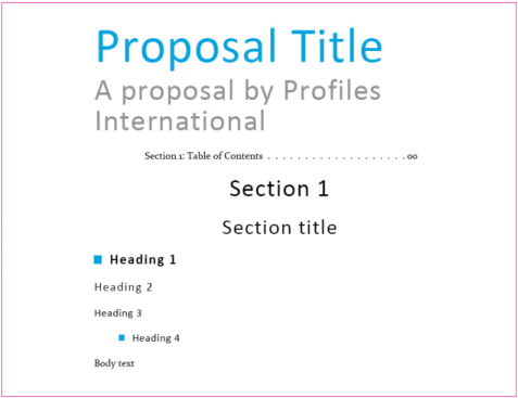 Proposal Design  StepByStep