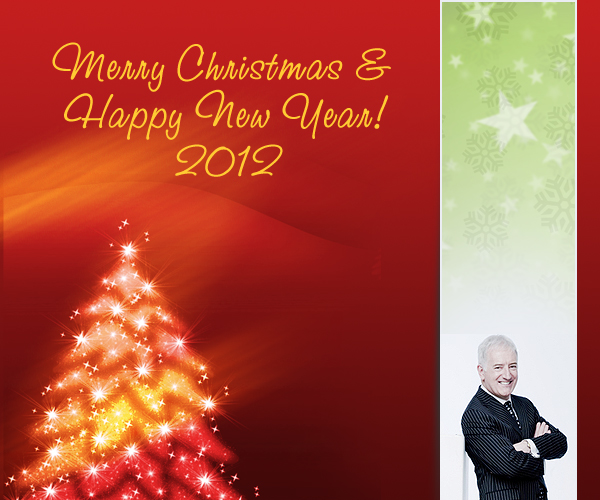 HAPPY CHRISTMAS & A PROSPEROUS 2012!